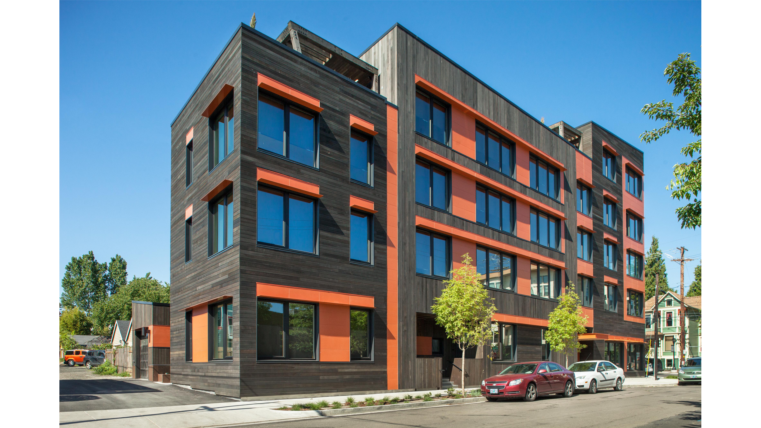 Kiln Apartments Gbd Architects Portland Oregon